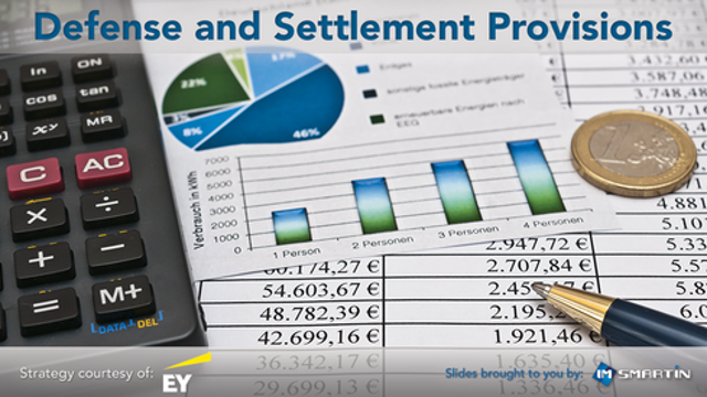 Defense/Settlement Provisions