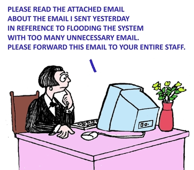 2. Somebody Forwards a Corporate Email to a Friend, Spouse, or Personal Account