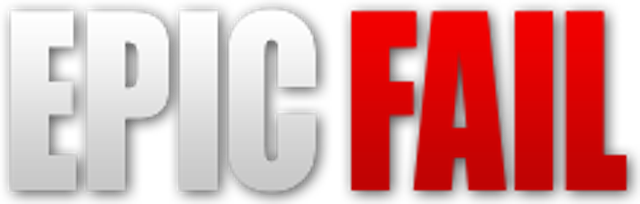 13. Most Epic Fail