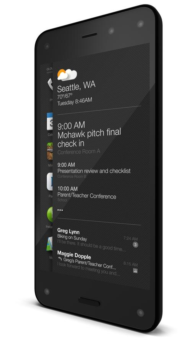 Fire OSThe Fire Phone runs Amazon's Fire OS, which is a variant of Android. It doesn't include key Android staples, such as t