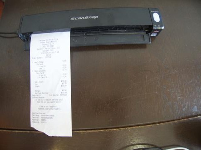 Receipts And Small Forms