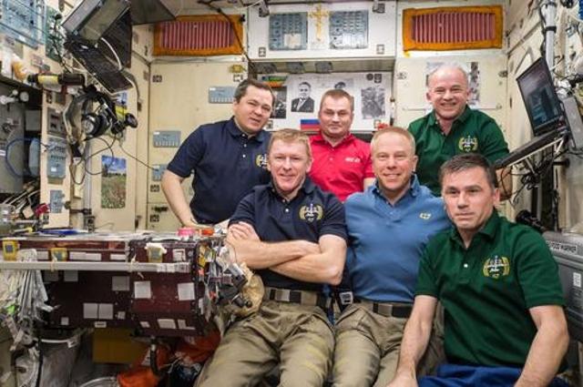 A Crew Portrait Marks The 3 Millionth Image