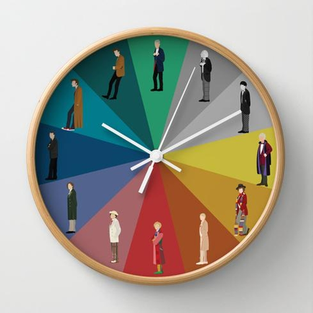 Dr. Who Wall Clock