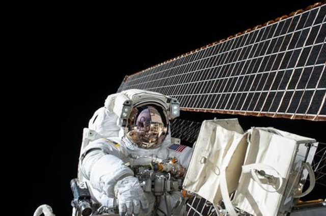 An 8-Hour Spacewalk In The Name Of Maintenance