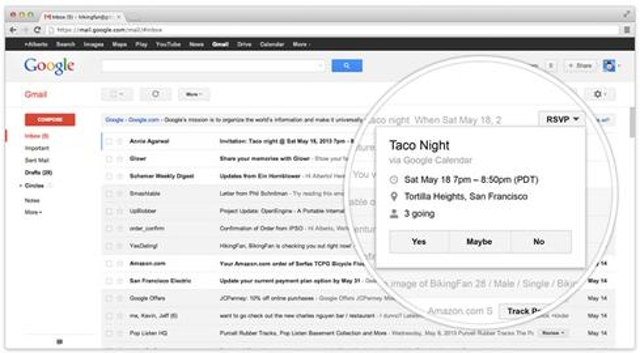 Respond to emails without opening themA new feature called Gmail Quick Buttons lets you act on some emails from your inbox wi