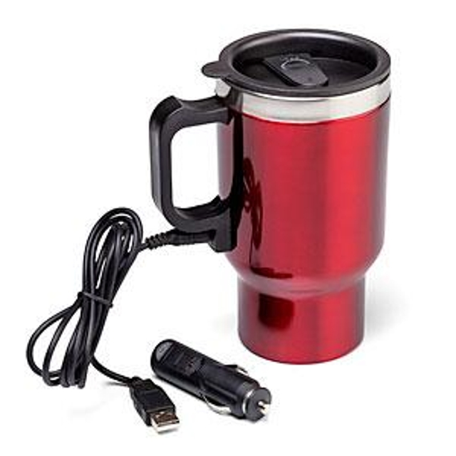 ThinkGeek Dual Heated Travel Mug