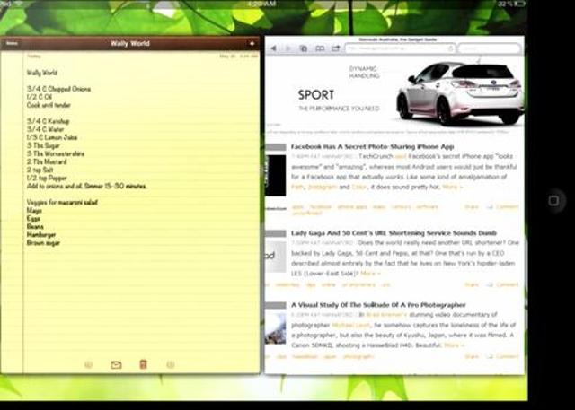 Windows 8 multi-tasking makes an iOS cameo