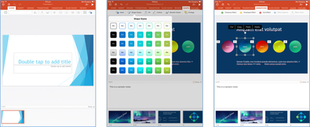 Work With PowerPoint
