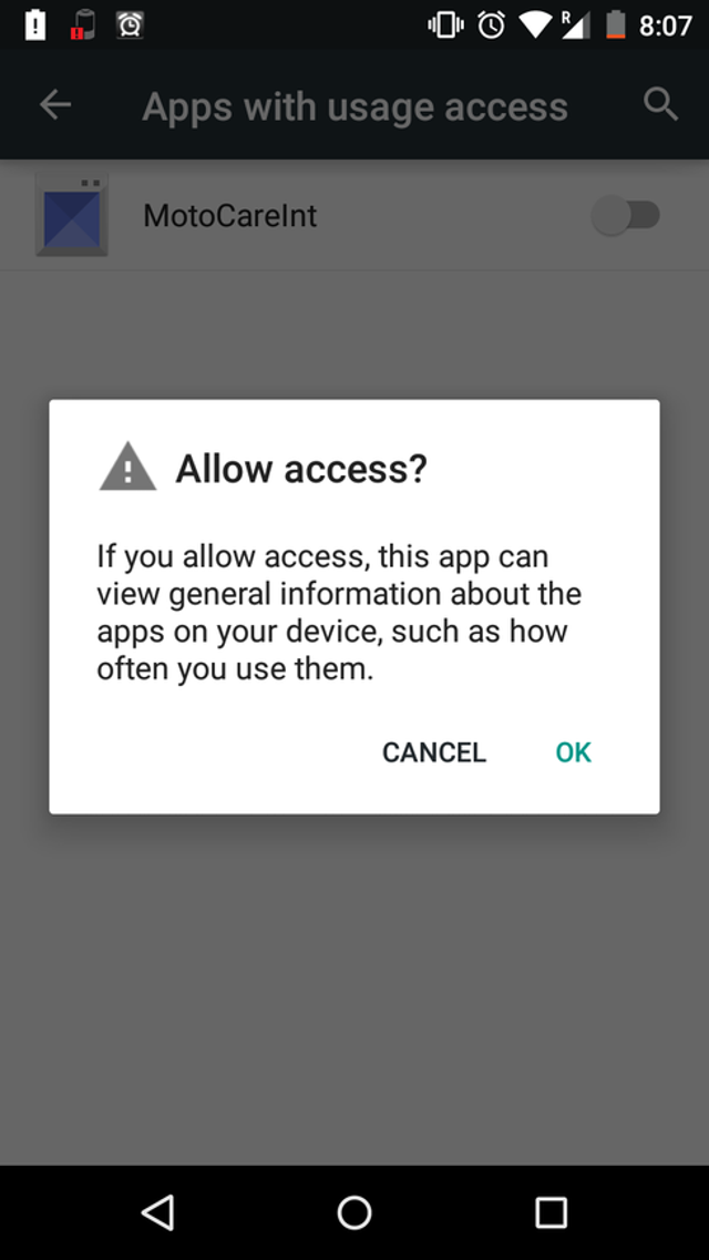 Android: Privacy