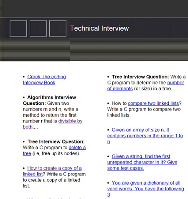 Technical Interview