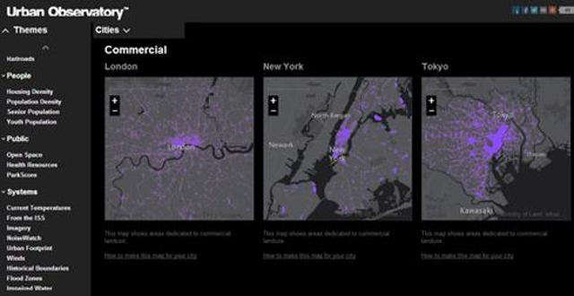 Comparative visualizations of cities around the worldAt the Esri International User Conference, Esri unveiled a new version o