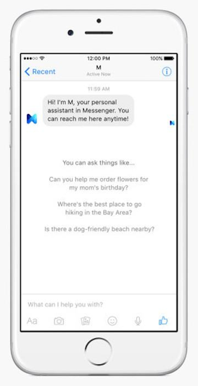 Facebook M Isn't Yet for Everyone