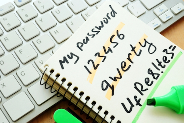 Use a Strong Password on the Device