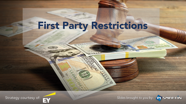 First Party Restrictions