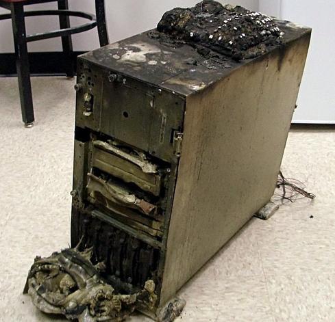 Broken server