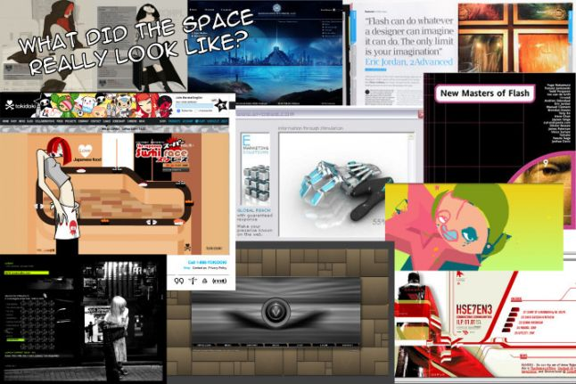 "A short history of Flash & the forgotten ""Flash Website"" movement (when websites were ""the new emerging artform"")"