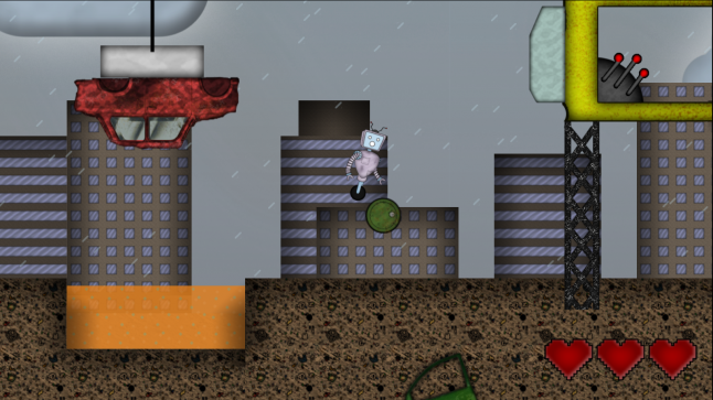 Scrap City Scoops, created in Construct engine in 14 days for Gamedev.js Jam 2020 in April
