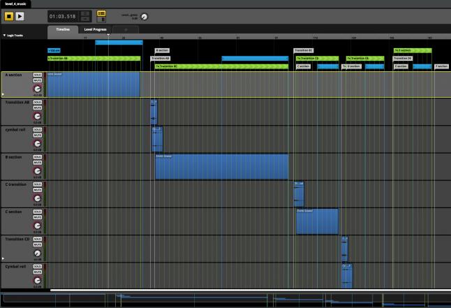 FMOD session screen shot
