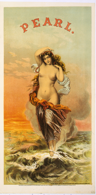 19th century trade card for Pearl Tobacco
