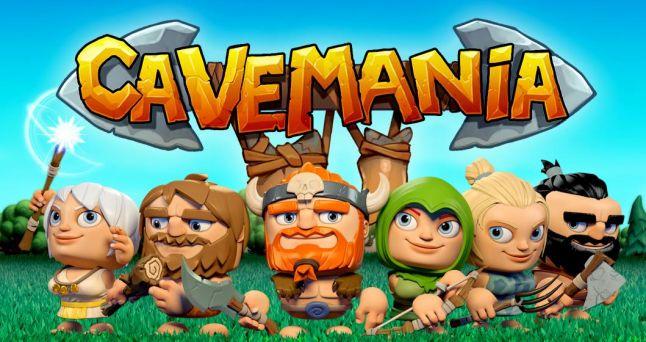 Cavemania match-3 mobile game