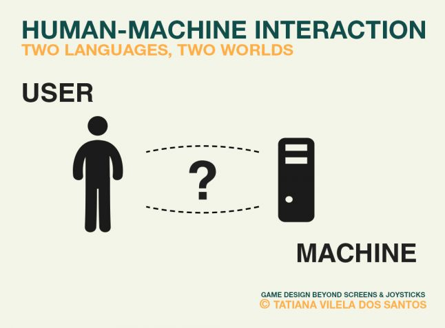 Human-Machine Interaction: two languages, two worlds