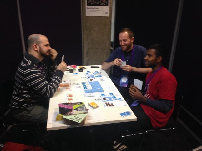 Last play session at MozFest