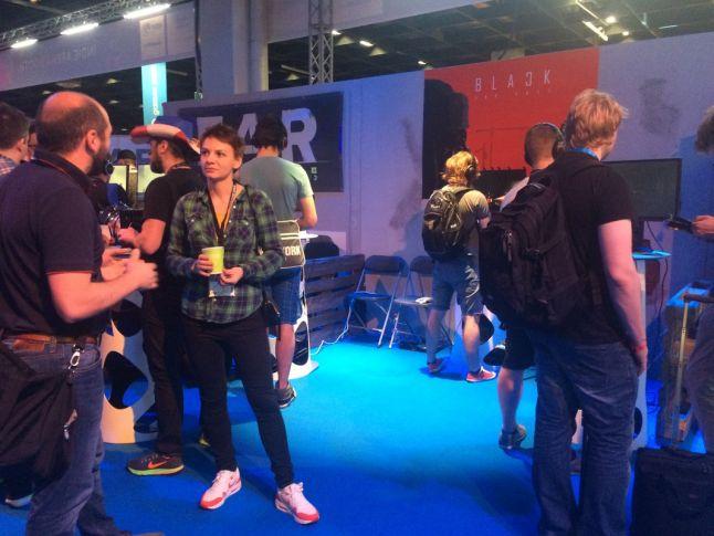 Black The Fall at Indie Arena Gamescom 2016