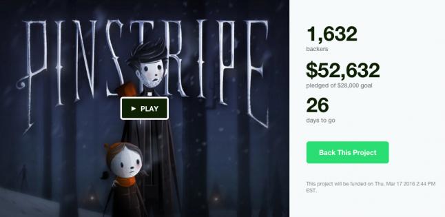 Pinstripe Kickstarter