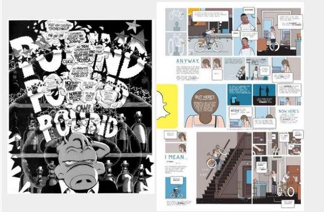 Comic sample layout