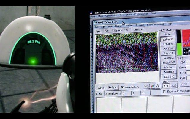 Decoding in-game SSTV audio