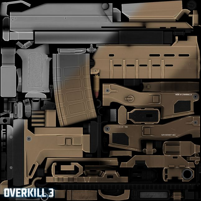 Overkill 3 - Textures