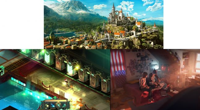 Witcher 3, Transistor and Life Is Strange - these three games are praised for their visuals (among other things).