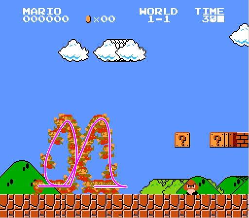 Super Mario: High Sensitivity