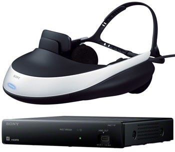 Sony HMZ-T1 HMD