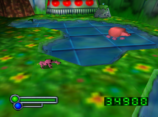 Although the pink hippo can do massive damage very quickly, the pink hyena can paralyze it with laughter.