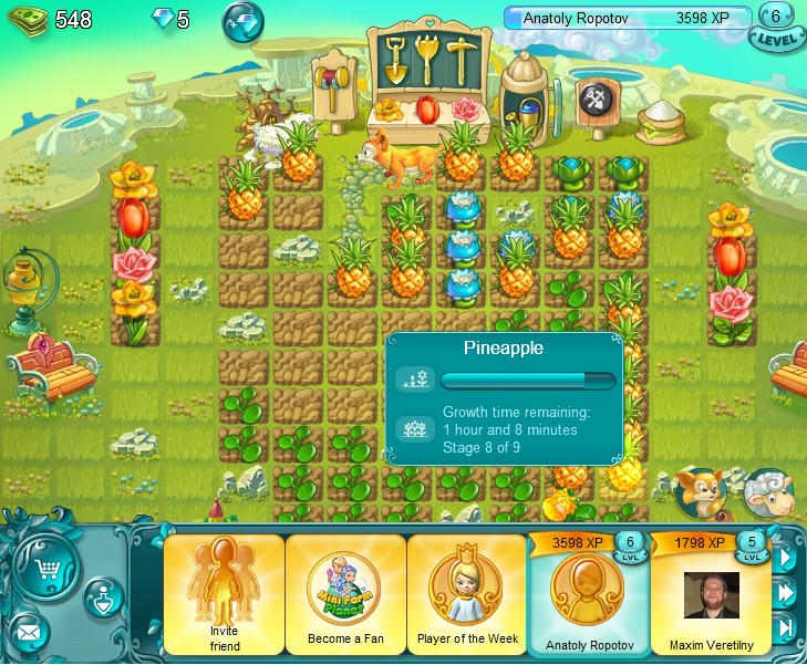Mini Farm Planet LVL5