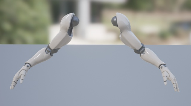 Floating arms in UE4