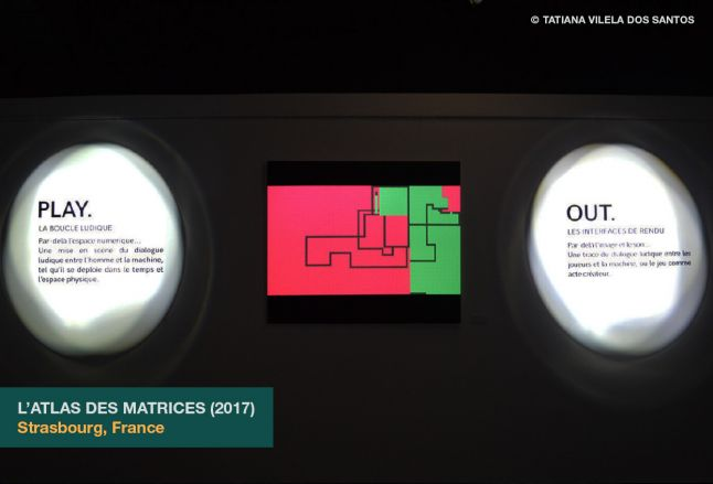 L�Atlas des matrices as exhibited at the Shadok in Strasbourg, France