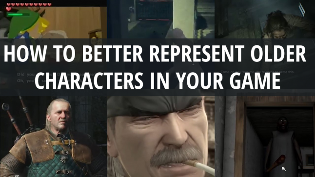 How to better represent older characters in your game