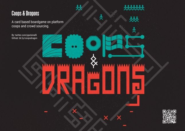 Coops And Dragons - poster