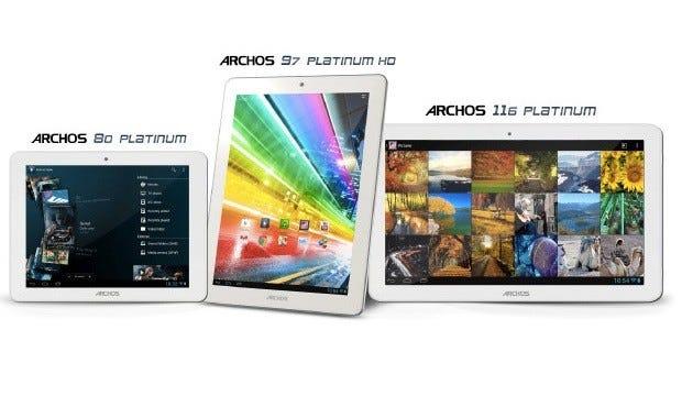 The Archos 80, 97, 116 Platinum Series (Allwinner A31 with PowerVR SGX544MP2)