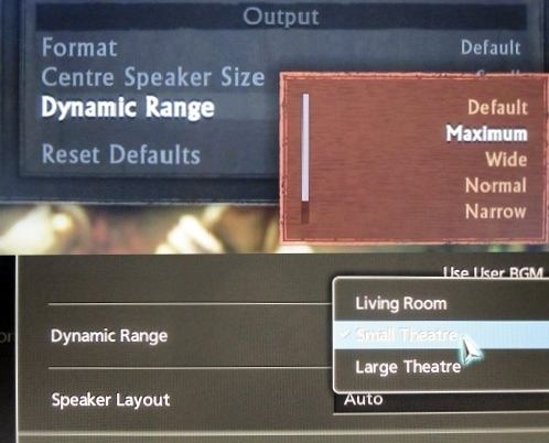 The dynamic range controls of Uncharted 2 and Gran Turismo 5