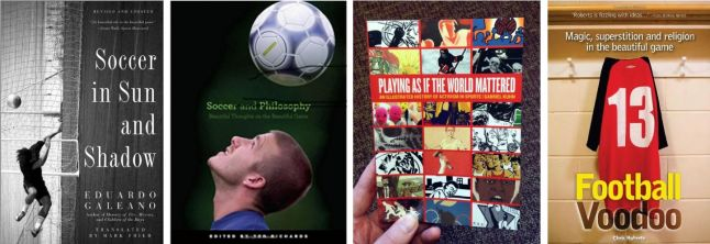 Several cover of the texts on Football (1)