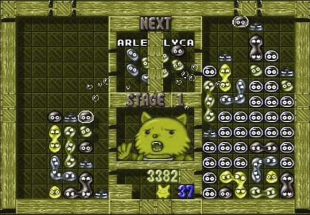 Puyo Puyo Tsuu Green-Colorblind Screenshot