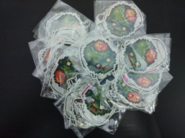 Infectonator Stickers
