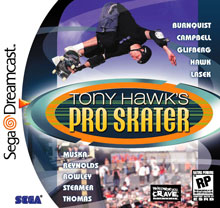 Tony Hawk for Dreamcast