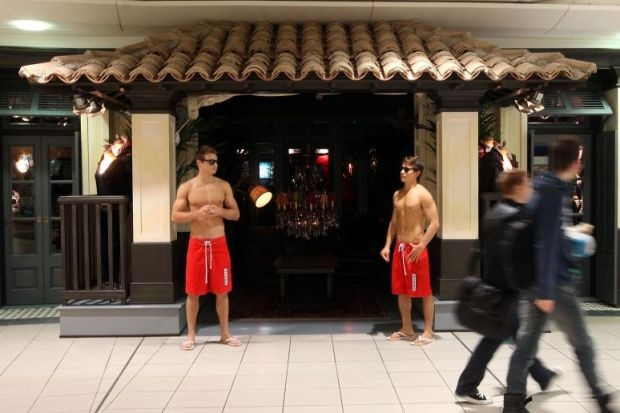 The mysterious entrance into Hollister Glasgow's SoCal order