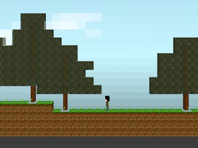 Very early development screenshot