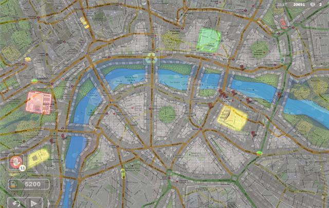 Central London, UK (traffic wonder)
