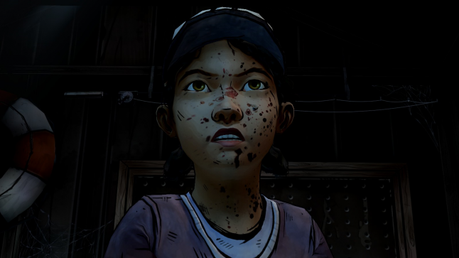 Clementine became strong – Lee was obviously a good teacher.